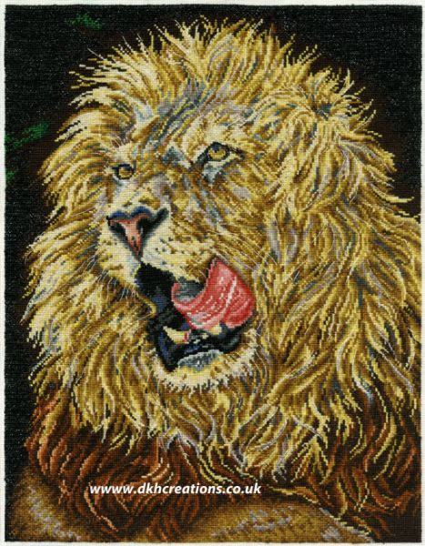 Lion Lunch Cross Stitch Kit